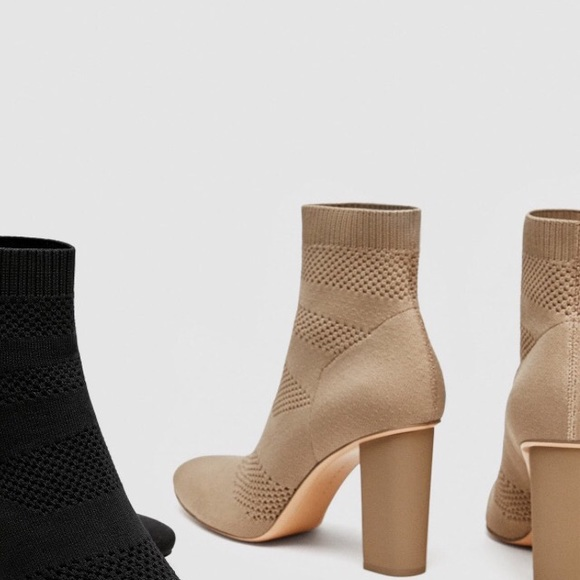 8c881c2845c Fabric high heel ankle boot. M 5a846665077b979cf0b63a03